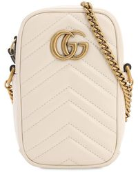 Gucci - Gg Marmont 2.0 Leather Shoulder Bag - Lyst