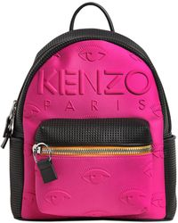 KENZO - Kombo Neoprene & Leather Backpack - Lyst