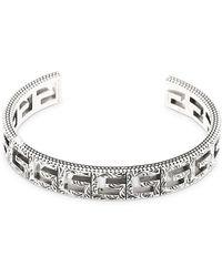 6111e4d3dc23e 10mm G Logo Cuff Bracelet - Metallic