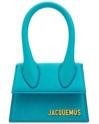 Jacquemus Le Chiquito レザートップハンドルバッグ - ブルー
