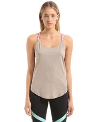 Under Armour | Misty Strappy Tank Top | Lyst