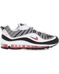 Nike - ホワイト エア マックス 98 スニーカー - Lyst