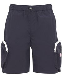 LC23 Nylon Shorts W/3d Pockets - Blue