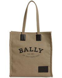 Bally Crystalia Naw Cabana キャンバスショッピングバッグ - マルチカラー