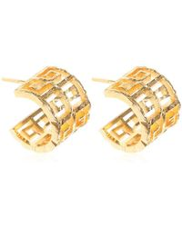 Givenchy - 4g Hoop Earrings - Lyst
