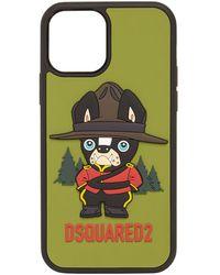 DSquared² Ciro Mascot Iphone 12 Pro ケース - グリーン