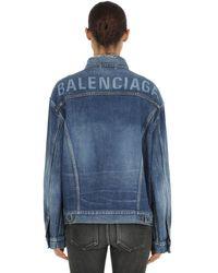 "Balenciaga Giacca ""Like A Man"" In - Blu"