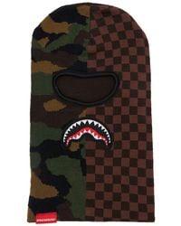 Sprayground Karo- Und Camouflage-skimaske - Mehrfarbig