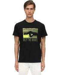 DIESEL - コットンジャージーtシャツ - Lyst