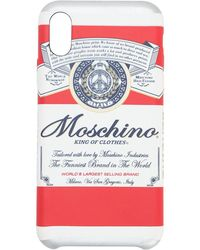Moschino Iphone X-cover Mit Druck - Mehrfarbig