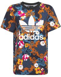 adidas Originals T-shirt Mit Logodruck - Blau