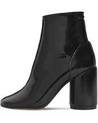 MM6 by Maison Martin Margiela 90mm Scuba Ankle Boots - Black