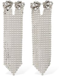 Paco Rabanne - Chainmailピアス - Lyst