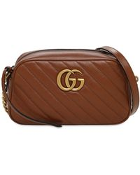Gucci Gg Marmont 2.0 バッグ - ブラウン