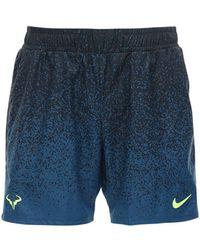 "Nike Tennisshorts Aus Technostoff ""dri-fit Rafa"" - Schwarz"