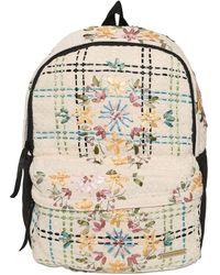 Natargeorgiou - Embroidered Neoprene & Cotton Backpack - Lyst