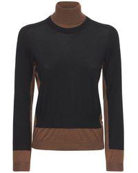 Marni ウールニットセーター - ブラック
