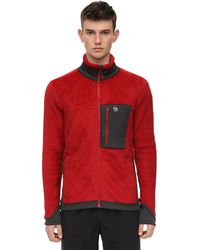 Mountain Hardwear Monkey /2 Jacket W/ High Collar - Red