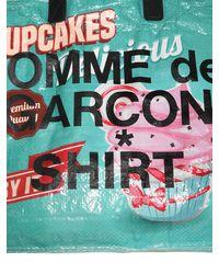 Comme des Garçons Tote Mit Logodruck - Mehrfarbig