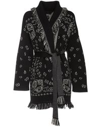 Alanui カシミアジャケット - ブラック