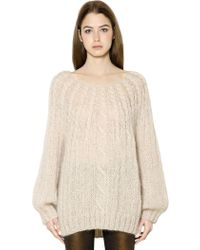 Mes Demoiselles - Cable Knit Sweater - Lyst