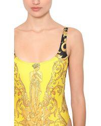 Versace Badeanzug Aus Bedrucktem Lycra - Mehrfarbig