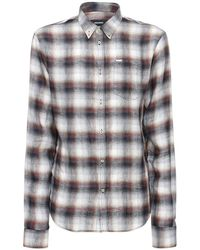 DSquared² - リネンボタンダウンシャツ - Lyst