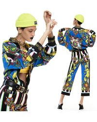 Versace Jeans Couture コットンデニムジーンズ - ブルー