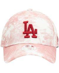 """KTZ Kappe """"mlb La Dodgers 9forty"""" - Pink"""