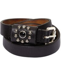 Htc Los Angeles - 30mm Smooth Leather Belt - Lyst