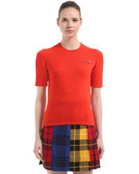 Le Kilt - Fine Cashmere Knit Top - Lyst