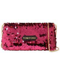 Tom Ford Label スパンコールショルダーバッグ - マルチカラー