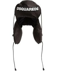DSquared² ロゴハット - ブラック