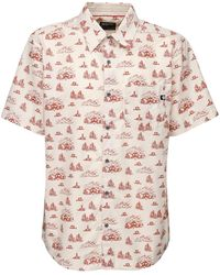 Marmot Syrocco Print Short Sleeve Shirt - Pink