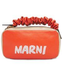 Marni Сумка Из Кожи - Оранжевый
