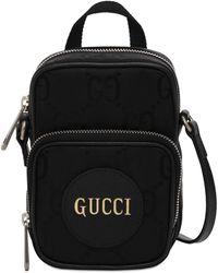 Gucci - Off The Grid コレクション ブラック ミニ GG メッセンジャー バッグ - Lyst