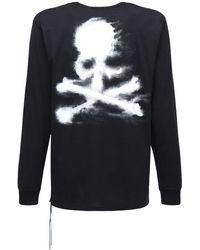 MASTERMIND WORLD Sand ジャージー長袖tシャツ - ブラック