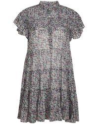 Étoile Isabel Marant - Короткое Платье Из Хлопка Lanikaye - Lyst