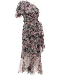 Giambattista Valli - Платье Из Шёлкового Жоржета - Lyst