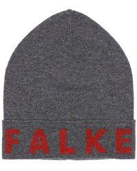 Falke Extra Soft Virgin Wool Blend Beanie - Grau