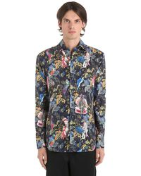 21870b6cad Camicia In Lino - Blu
