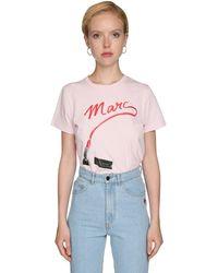 Marc Jacobs Футболка The St. Marks - Розовый