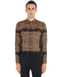 "Etro - Camicia ""african"" In Cotone - Lyst"