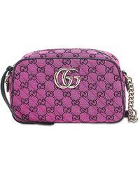 Gucci Gg Marmont Multicolor キャンバスバッグ - マルチカラー