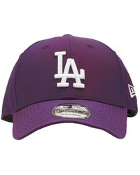 KTZ Hypertone La Dodgers 9forty キャップ - パープル