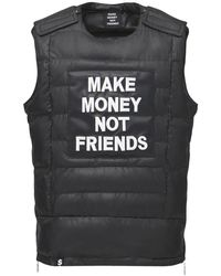 MAKE MONEY NOT FRIENDS - ロゴパッチ ブレットプルーフジャケットベスト - Lyst