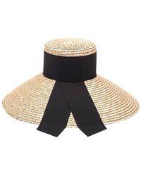 Eugenia Kim Mirabel Straw Hat - Natural