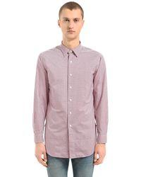 Kent & Curwen Horley コットンチュニックシャツ - レッド