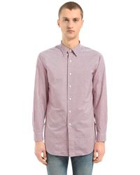 Kent & Curwen - Horley コットンチュニックシャツ - Lyst