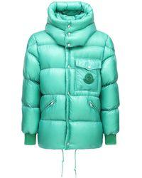 Moncler Нейлоновая Куртка На Пуху Lamentin - Зеленый